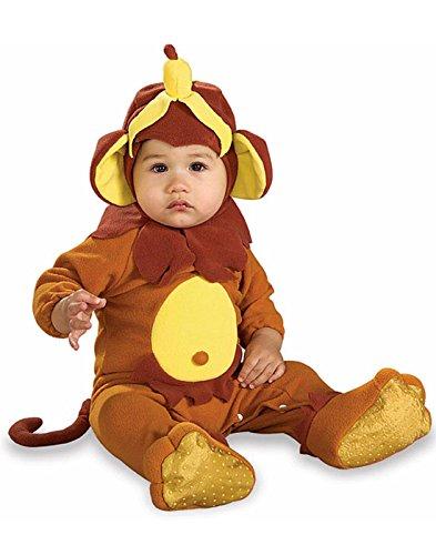 Newborn Banana Costumes (Rubies Monkey See Monkey Do Child Romper Halloween Newborn Costume | 885620)