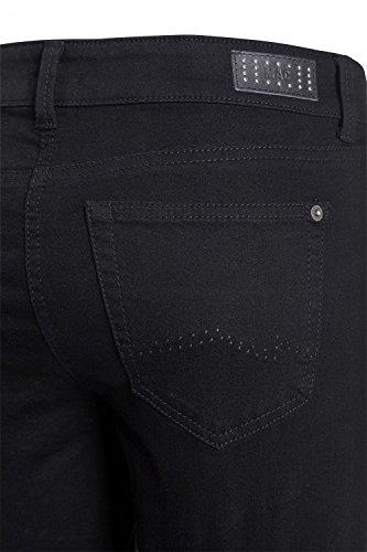 MAC - Jeans - Jambe droite - Femme noir Schwarz