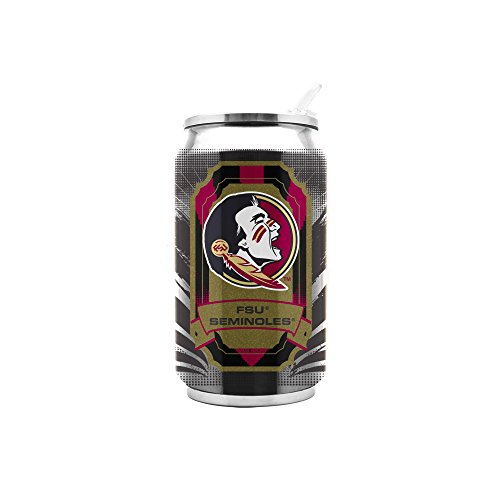 NCAA Florida State Seminoles 16oz Double Wall Stainless Steel - Florida Duck State
