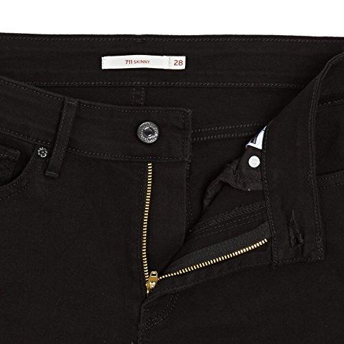Levi's Jeans SKINNY 711 Black 711 Skinny LONE WOLF TTrwq