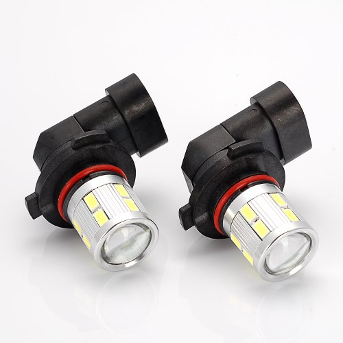 2x High Power White CREE Q5 5730 SMD LED 9005 HB3 9145 9140 H10 DRL Driving Running Fog Light Bulb For For Chevrolet Dodge Ford Jeep GMC