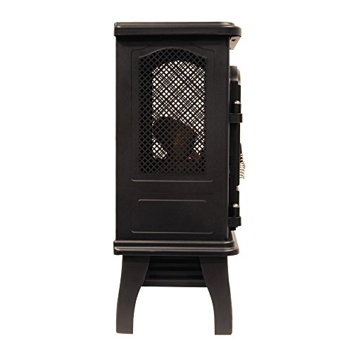 Duraflame DFI-470-04 Infrared Quartz Fireplace Stove, Black by Duraflame Electric (Image #7)
