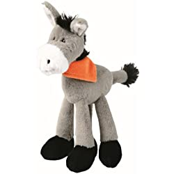 Trixie Donkey Plush Toy for Dog, 24 cm