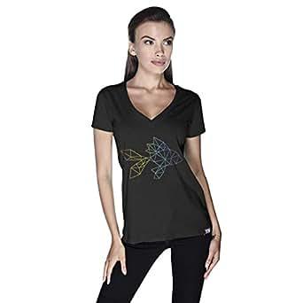 Creo Fish Animal T-Shirt For Women - M, Black