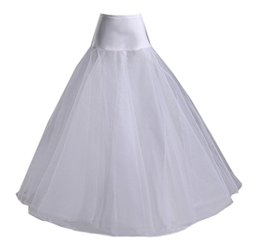 Kmformals Women's a Line Petticoats Wedding Dresses Ball Gown Underskirt Slips … Dress Petticoat Slip
