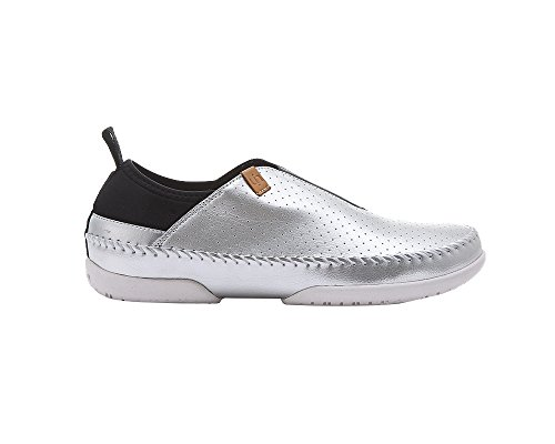 UIN Männer Torres Microfaser Slip-on Schuhe Silber