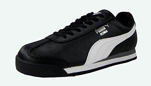 puma-roma-basic-jr-sneaker-little-kid-big-kid-black-white-puma-silver-55-m-us-big-kid