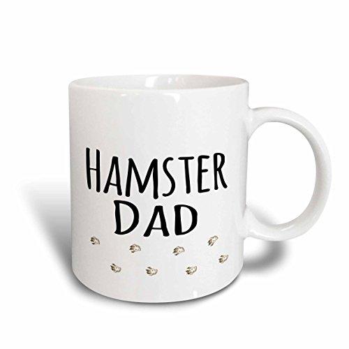 3dRose 154020_1 Hamster Dad Mug, 11 oz, Ceramic