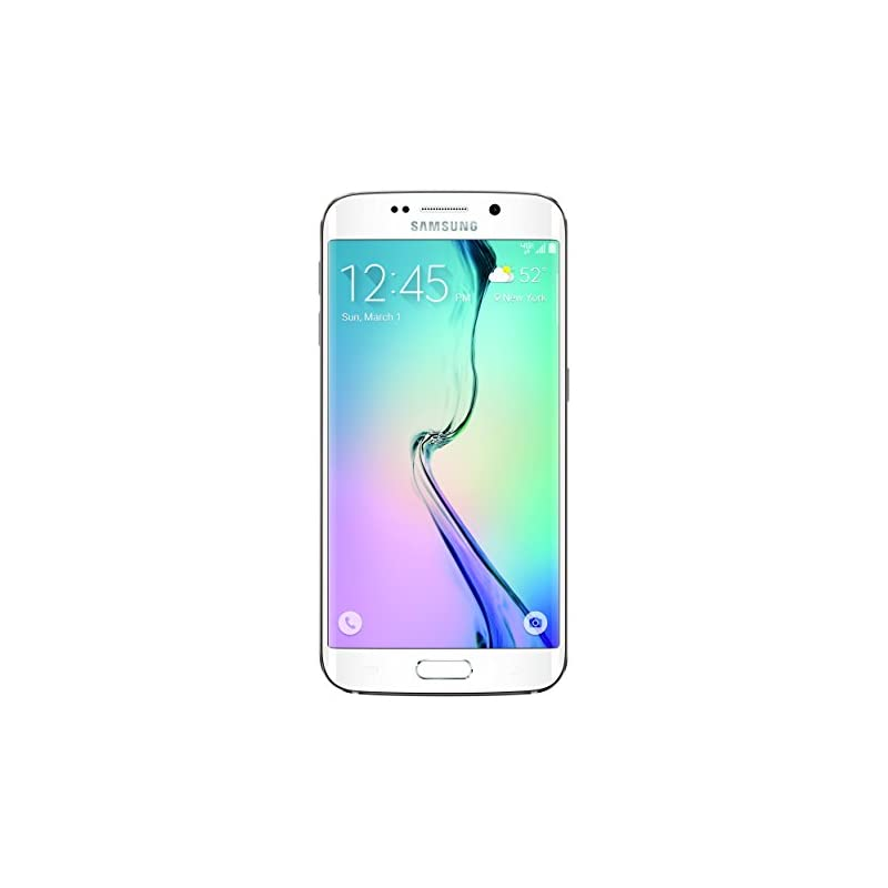 Samsung Galaxy S6 Edge, White Pearl 64GB