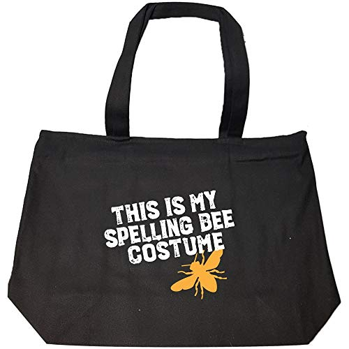 This Is My Spelling Bee Costume Funny Beekeeping Art For Halloween Apairist - Fashion Zip Tote Bag