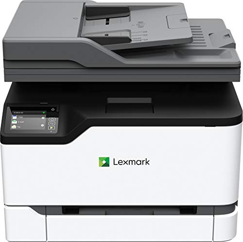 Lexmark MC3326adwe Color Multifunction Laser Printer with Print, Copy, Fax, Scan and Wireless Capabilities, Two-Sided Printing with Full-Spectrum Security and Prints Up to 26 ppm (40N9060)