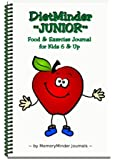 DietMinder JUNIOR Food & Exercise Journal for Kids 6 & Up
