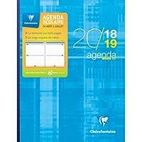 1 Agenda WHEN 17 - Août 2018 à juillet 2019 - Format 17x22 cm - Plusieurs Visuels Aléatoires