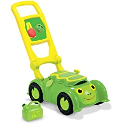 Melissa & Doug Sunny Patch Tootle Turtle Mower With Storage Compartment