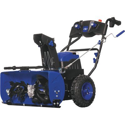 Two Stage Snowblower (Snow Joe iON24SB-XR 80V Max 5.0 Ah Cordless Self-Propelled Two-Stage 3-Speed + Reverse Digital Drive Snow Blower)