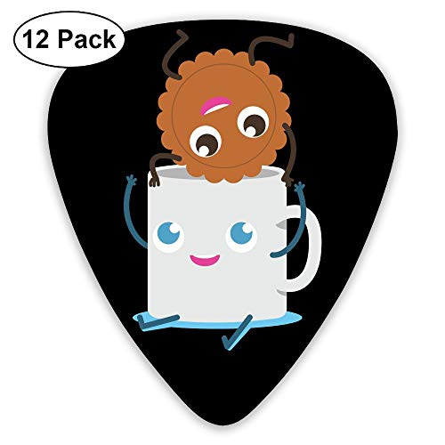 Classic Guitar Pick (12 Pack) Biscuits and Rice Roll Player's Pack for Electric Guitar,Acoustic Guitar,Mandolin,Guitar Bass