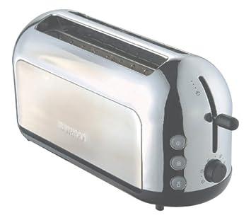 Kenwood Miro TTM333 4 Slice Toaster Brushed Metal Amazon