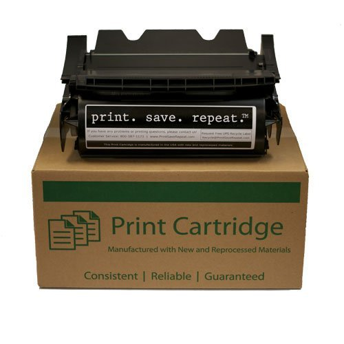 Lexmark T630 T632 T634 Toner 12A7362 – High Yield 21,000 Compatible Toner Cartridge replaces 12A7362, Office Central