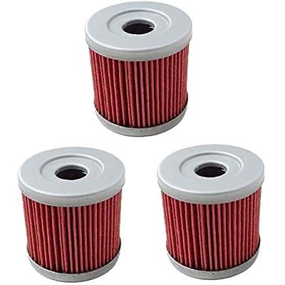 HF139 Oil Filter for Suzuki Z400 LTZ400 LT-Z400 Z LTZ 400 LTR450 LT-R450 LTR 450 DRZ400 Kawasaki KFX400 KFX 400 Artic Cat DVX400 DVX 400 Replace KN139: Automotive [5Bkhe1503452]
