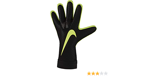 canto diario Mierda  Amazon.com : NIKE GK Mercurial Touch Elite Gloves- Black 9 : Sports &  Outdoors