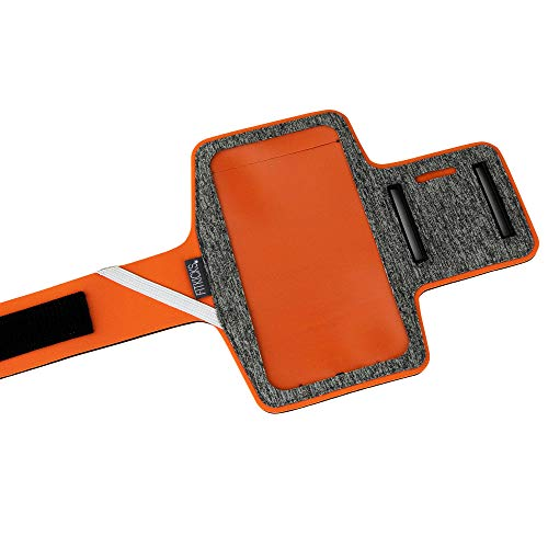 FitKicks Armband Neoprene Sporty Active Lifestyle Gear Holds Most Phones