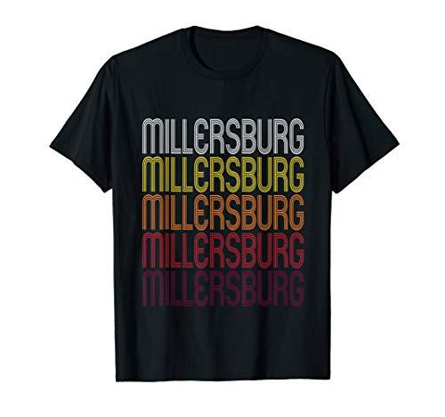 - Millersburg, PA | Vintage Style Pennsylvania T-shirt