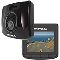 PAPAGO Car Dash Camera GoSafe S30 Full HD Dash Cam 1080P Car DVR with GPS Option, SONY EXMOR SENSOR, Night Vision, Free 8GB Micro SD Card GSS308G