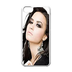 Wholesale Cheap Phone Case For Iphone 4 4S case cover -Famous Singer Demi Lovato Pattern Design-LingYan Store Case 16