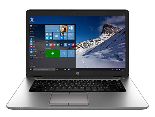 HP ELITEBOOK 850 G2 LAPTOP INTEL CORE I5-5300U 5th GEN 2.30GHZ WEBCAM 8GB RAM 128GB SSD WINDOWS 10 PRO 64BIT (Renewed)