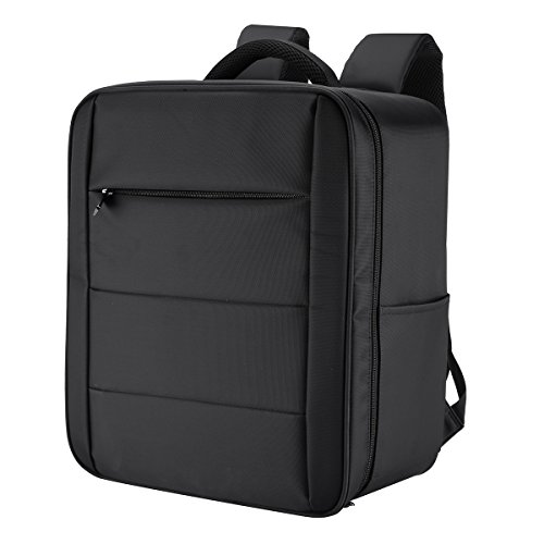 Powerextra Waterproof Carrying Bag Cases Traveling Backpack for DJI 3 Professional, Advanced, Standard, 4K Quadcopter Drone and Accessories - Upgraded (3 Backpack)