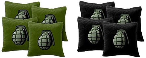 Grenade Bag - AJJ Cornhole 108-237 Grenade Cornhole Bags, Set of 8