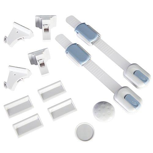 Premium 4 Locks 1 Key Strong Magnetic Safety Locks For