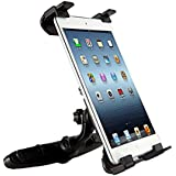 HDE iPad Car Headrest Tablet Mount For 1st 2nd 3rd Generation Mini and Retina Adjustable Vehicale Mount