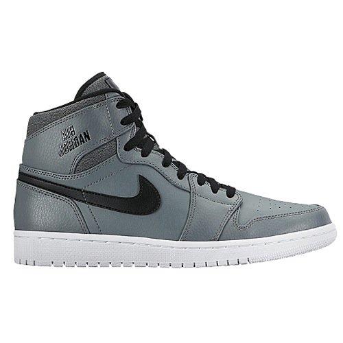 Nike Mens Air Jordan 1 Retro High Cool Grey/White-Black Leather Size 13 (Air Jordan 1 Cool Grey)