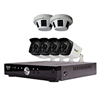 REVO America Aero HD Video Security Complete Surveillance System, Black (RA81CBNDL3)