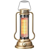 APIX Mini Halogen Heater (300W) AMH-386-GD (Antique Gold)【Japan Domestic genuine products】