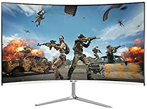 LZSHENG 24 inch 75Hz HD 1080P Curved Screen MVA LCD Display Gaming Monitor