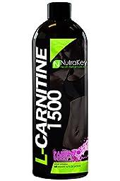 NutraKey Liquid L-Carnitine Berry Flavor, 16 Fl Oz