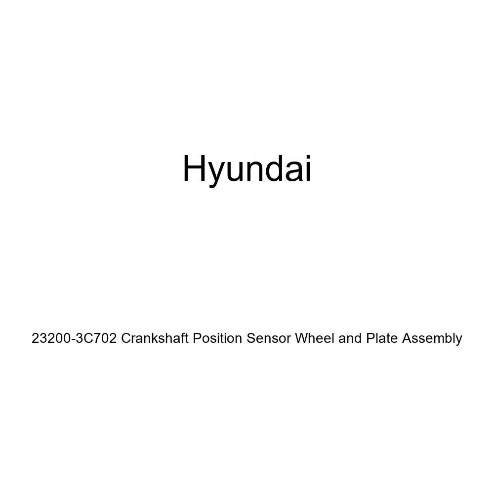 Genuine Hyundai 23200-3C702 Crankshaft Position Sensor Wheel and Plate Assembly