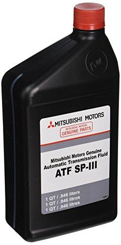 (Genuine Mitsubishi Diaqueen SPIII SP3 Transmission Fluid Quart MZ320200)