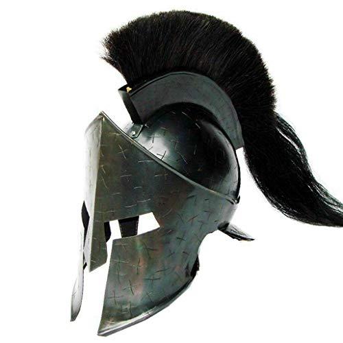 Sara Nautical Black Spartan Helmet 300 Spartan Costume