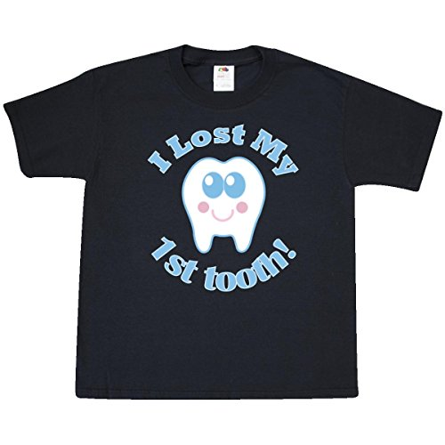 Inktastic Big Boys' I Lost My 1st Tooth Youth T-Shirt