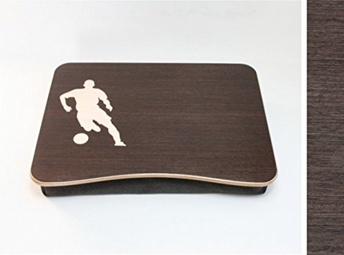 Soccer Laptop Tray / Bed Desk / Wooden Laptop Bed Tray / iPad Table / Pillow Tray / Serving Tray by WoodPower