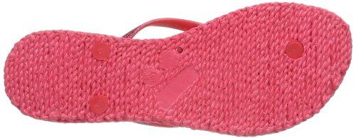 Ilse Jacobsen Damen Glitzer Flip Flop Damen Zehentrenner Pink (Hot Pink 306)