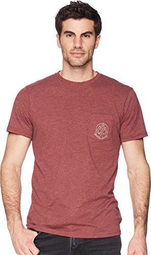 Mountain Hardwear Men's 3 Peaks Pocket T-Shirt, Heather Smith Rock, ()