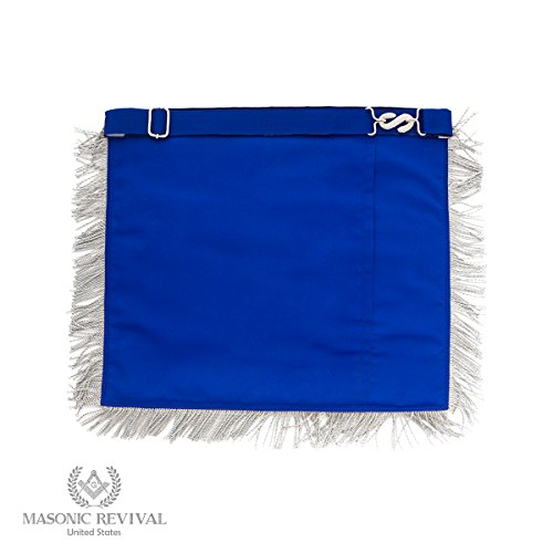 El Mixto Bullion Past Master Apron by Masonic Revival (with Square) by Masonic Revival (Image #1)