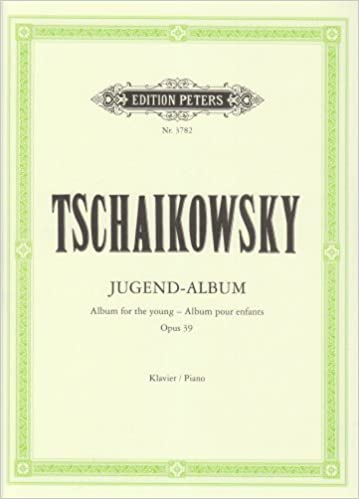 Album For The Young Op 39 Piano Solo English German And French Edition Peter Ilyich Tchaikovsky 9790014018238 Amazon Com Books It's so personal and slightly sad but also hopeful with some subtle humor mixed in. album for the young op 39 piano solo