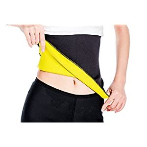 Valentina Unisex Hot Body Shaper, Neoprene Slimming Belt, Tummy Control Shapewear, Stomach Fat Burner, Best Abdominal…