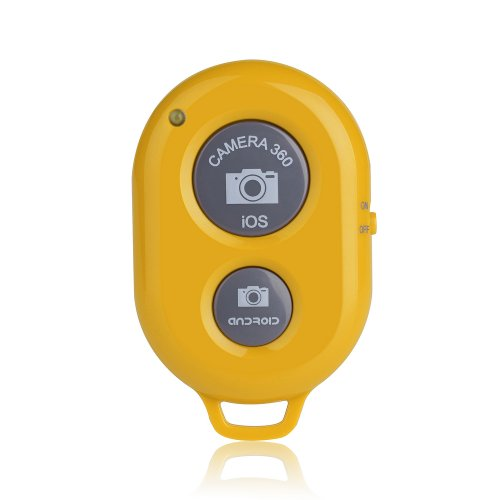 VicTsing Bluetooth Wireless Remote Control Camera Shutter Release Self Timer for iphone 5 5S 5C 4S 4, ipad 5 4 3 ipad Air Mini Sony Xperia HTC New One and X Samsung Galaxy S3 S4 S5 Note 1 2 3 Galaxay Tab 2 Note8 10.1 Google Nexus 4 5 7 IOS Android Smartphones Tablets (Red)
