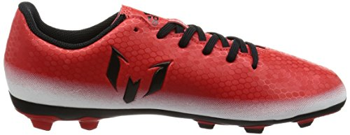 adidas Messi 16.4 FxG J, Zapatillas de Fútbol para Niños Rojo (Red/cblack/ftwwht)